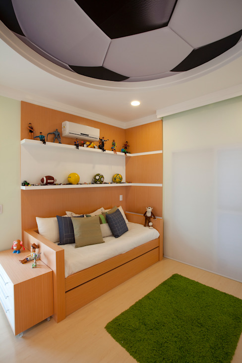 Quartos de criança modernos por Arquiteto Aquiles Nícolas Kílaris Moderno