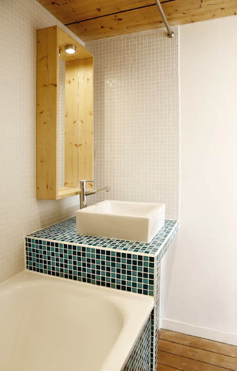 ALL IN ONE Salle de bain moderne par BKBS Moderne