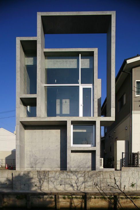 Houses by 白根博紀建築設計事務所, Modern