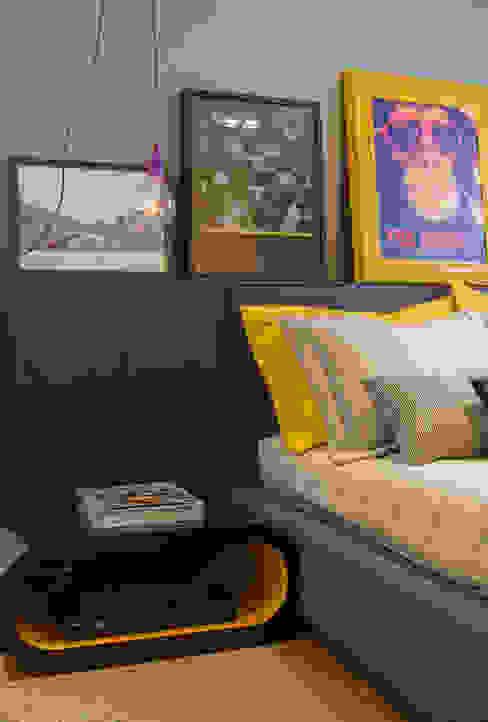 Detalhes do quarto despojado Quartos modernos por Barbara Dundes | ARQ + DESIGN Moderno