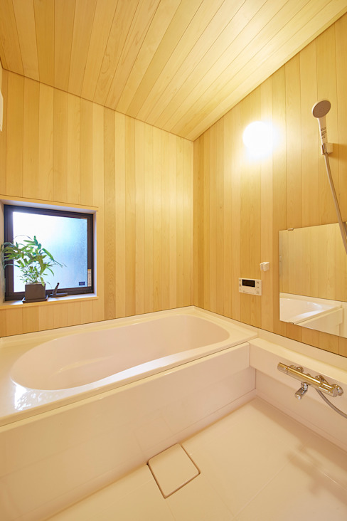 浴室 モダンスタイルの お風呂 の 一級建築士事務所co-designstudio モダン