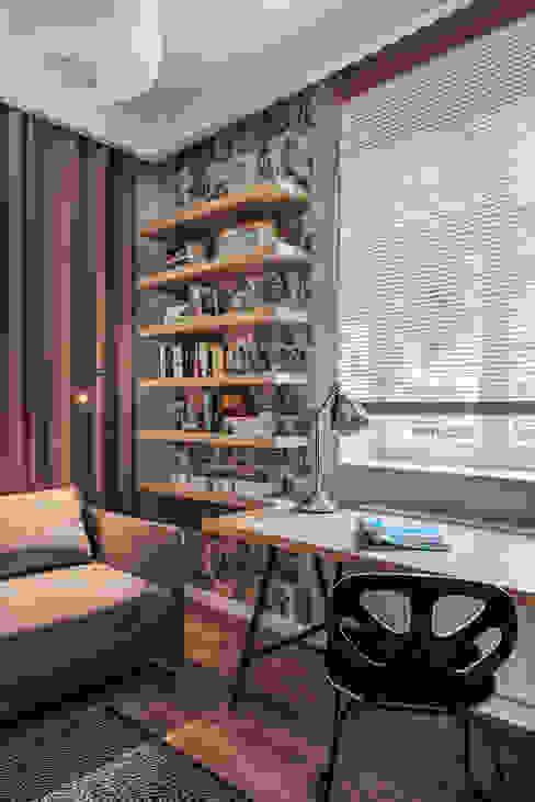 Oficinas de estilo  por formativ. indywidualne projekty wnętrz, Escandinavo