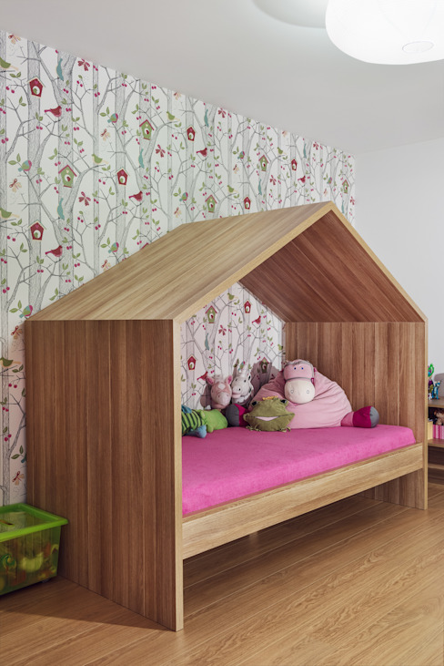 Dom prywatny 2014 Skandynawski pokój dziecięcy od formativ. indywidualne projekty wnętrz Skandynawski