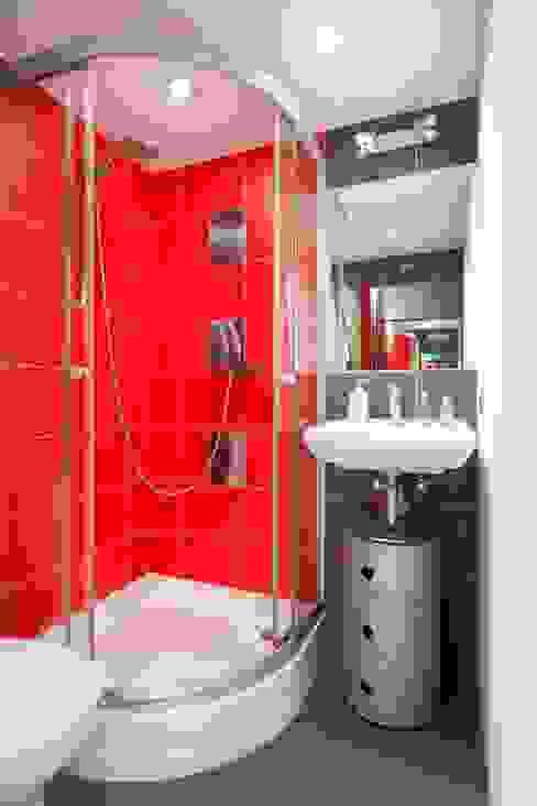 łazienka Industrialna łazienka od Studio Projektowe RoRO interior + design Industrialny