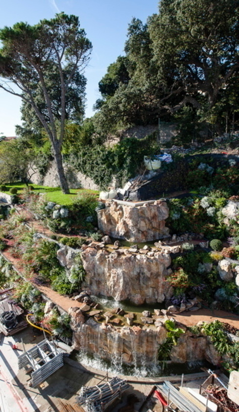 cascade Jardin méditerranéen par JUNGLE ART Méditerranéen