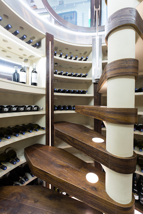 Wine cellar by JMF,