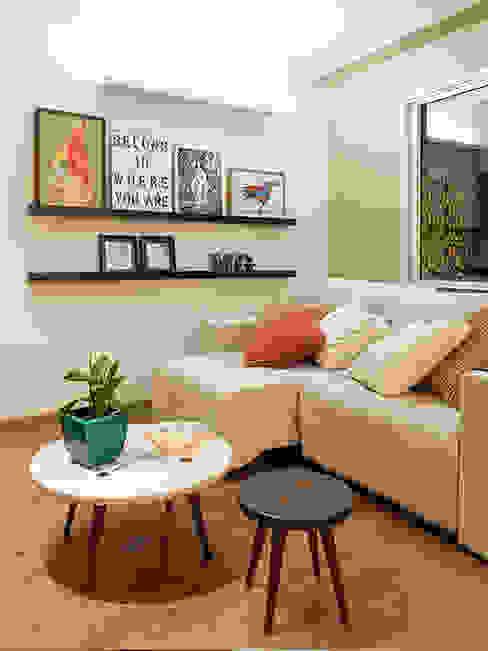 Living room by Isabela Bethônico Arquitetura