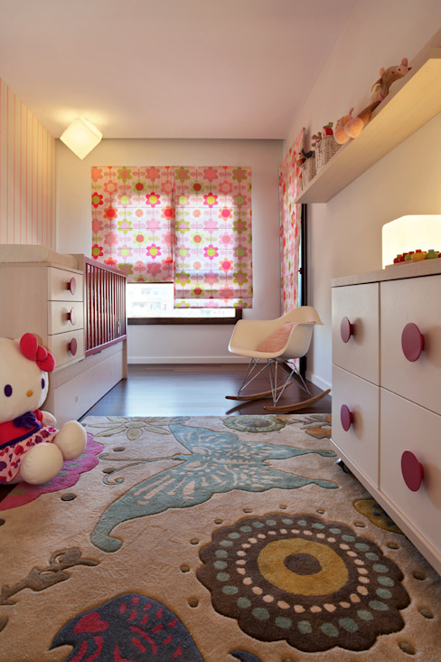 Nursery/kid's room by Tiago Patricio Rodrigues, Arquitectura e Interiores,