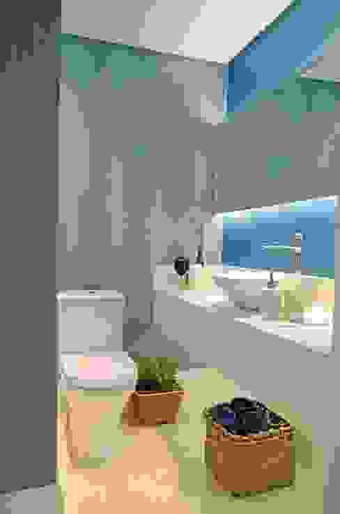 Lavabo Banheiros modernos por fpr Studio Moderno