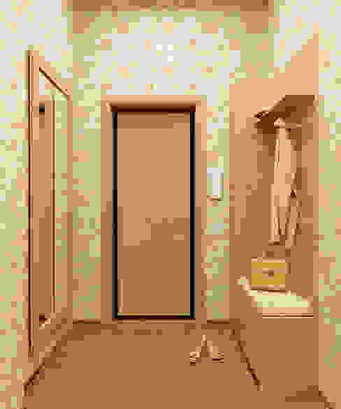 Студия дизайна ROMANIUK DESIGN Classic style corridor, hallway and stairs