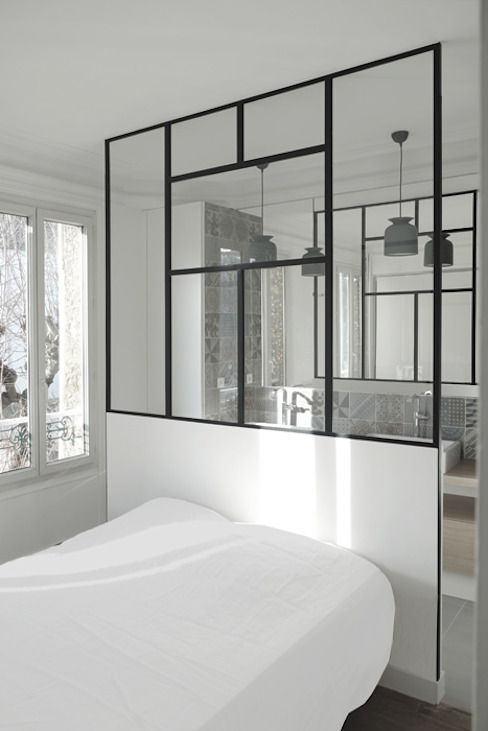 Bedroom by Yeme + Saunier, Minimalist