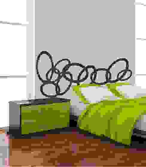 Vinilo Adhesivo Cabecero de cama de Visualvinilo Moderno