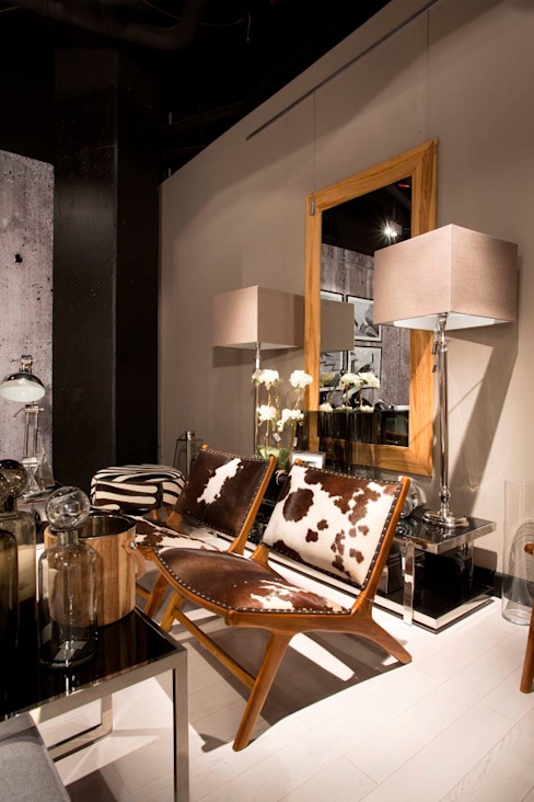Salas / recibidores de estilo  por House&more, Ecléctico