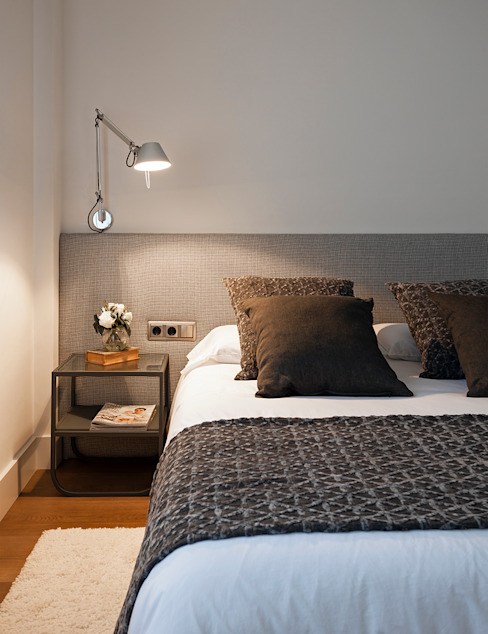 Dormitorio invitados Dormitorios de estilo moderno de DyD Interiorismo - Chelo Alcañíz Moderno