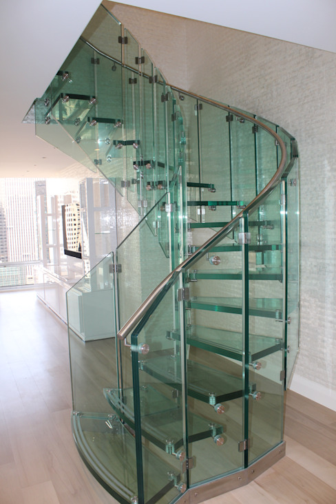 Siller Treppen/Stairs/Scale Escadas Vidro Transparente