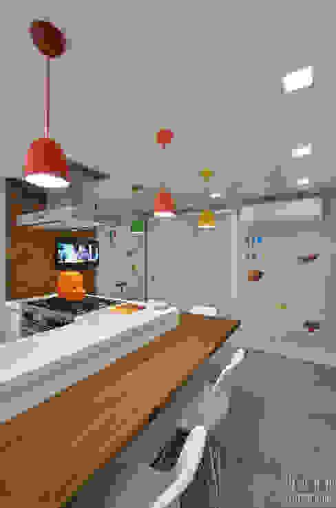 Carolina Burin & Arquitetos Associados Modern Kitchen