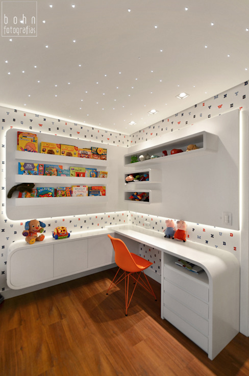 Modern nursery/kids room by Carolina Burin & Arquitetos Associados Modern