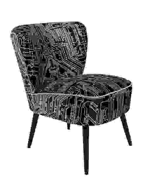 Flocktail Chair - Circuit Slate par Luku Home Éclectique