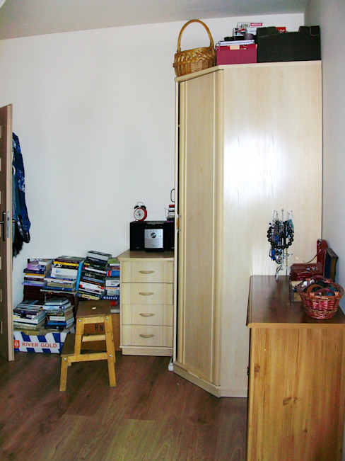 Metamorfoza wnętrza Wrocław : styl , w kategorii  zaprojektowany przez Design Plus Dorota Pawłowska,