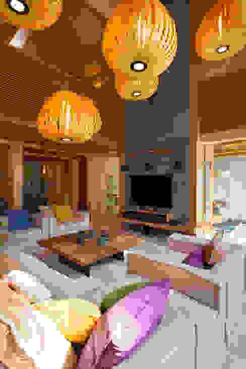 Salas / recibidores de estilo  por Студия экспериментального проектирования 'Rakurs'