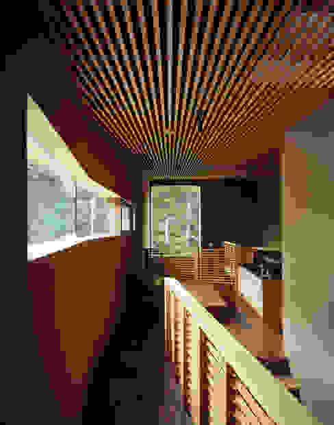 modern  oleh 合同会社永田大建築設計事務所, Modern Kayu Wood effect