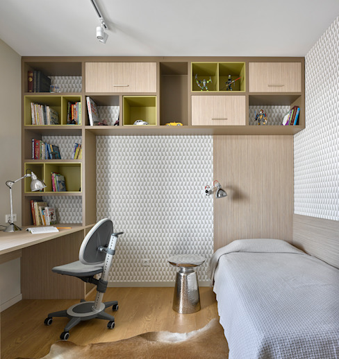 Бюро TS Design Scandinavian style nursery/kids room