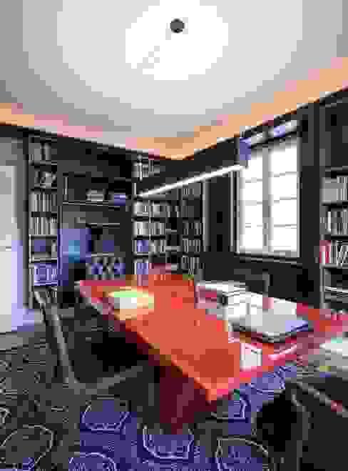 ACT | Biblioteca Escritórios modernos por Kali Arquitetura Moderno