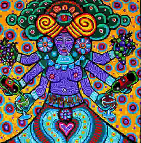 Abundancia (Xochiquetzal) de Jimmy Carbo Moderno