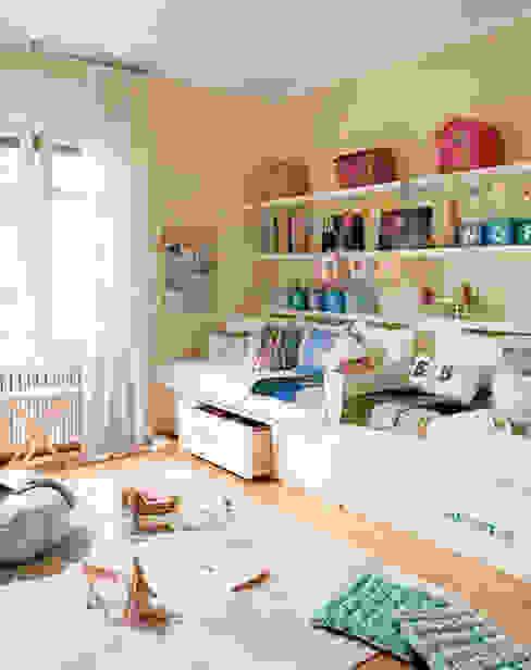 Ideas útiles para amueblar una habitación infantil compartida de MRN Escandinavo