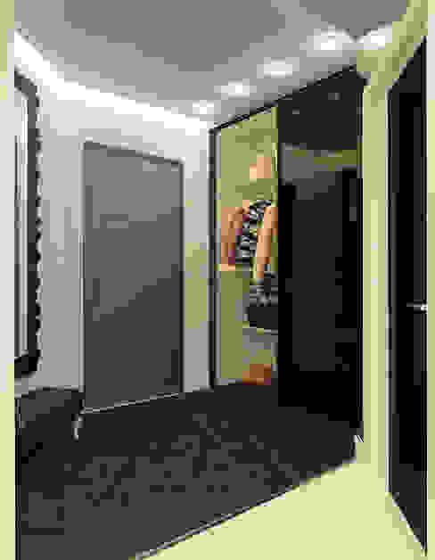 Couloir, entrée, escaliers minimalistes par Tutto design Minimaliste