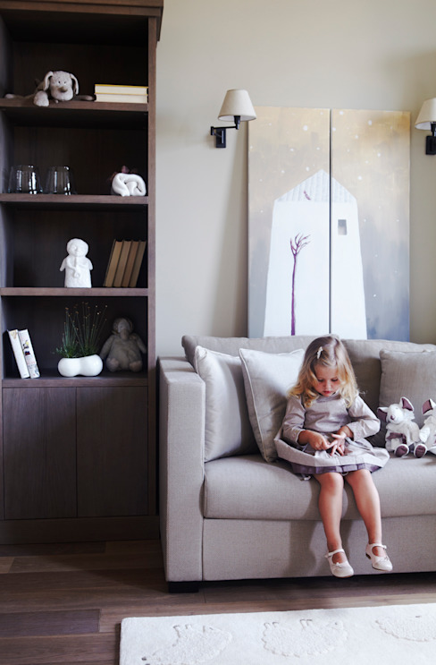 Квартира в Москве на улице Станиславского Детская комната в стиле модерн от Дизайн бюро Татьяны Алениной Модерн