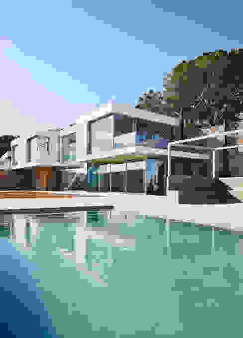 Piscinas de estilo  por Pepe Gascón arquitectura