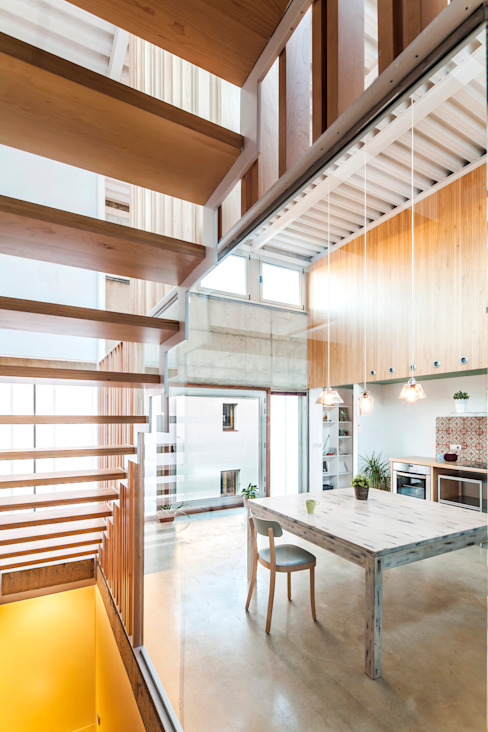 Casa Migdia Sau Taller d'Arquitectura Comedores de estilo moderno