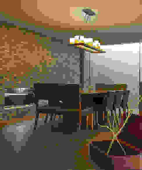 Departamento DL kababie arquitectos Comedores de estilo moderno