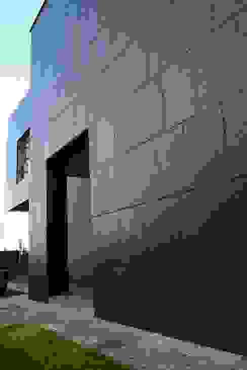 KL fasada Nowoczesne domy od Jednacz Architekci Nowoczesny
