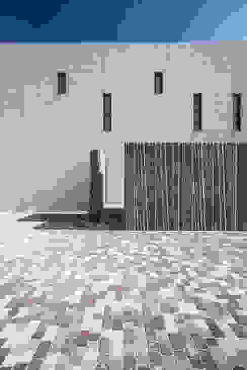 Materialidad del conjunto Casas modernas de Hernández Arquitectos Moderno