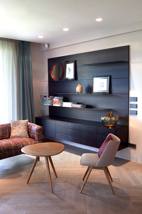 Living room by Binnenvorm, Eclectic