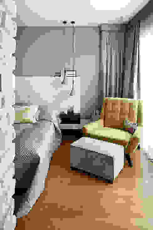 غرفة نوم تنفيذ Esra Kazmirci Mimarlik