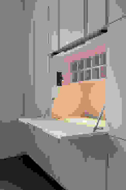 London Maida Vale flat refurbishment Ar'Chic Minimalistische studeerkamer
