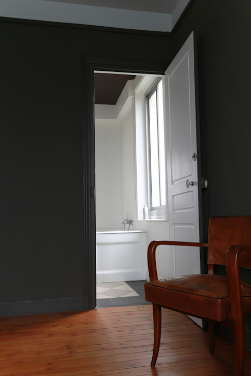 chambre Chambre minimaliste par ALM Archi Design Minimaliste