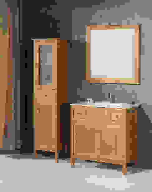 Mueble de baño Burgos de 80 Cera de Bañoweb Rústico