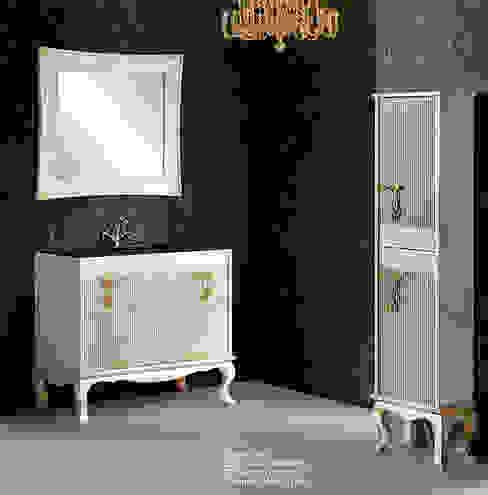 Mueble de baño Ballet de 100 hueso de Bañoweb Rústico