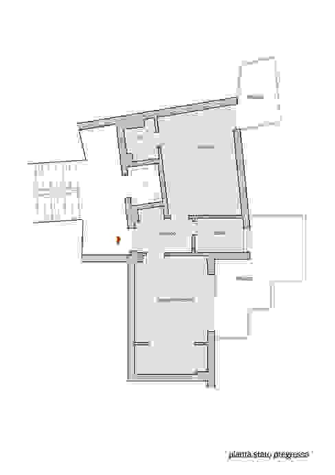 Pianta stato pregresso di Lorenzo Rossi | Architetto