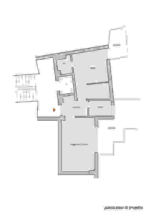 Pianta stato di progetto di Lorenzo Rossi | Architetto