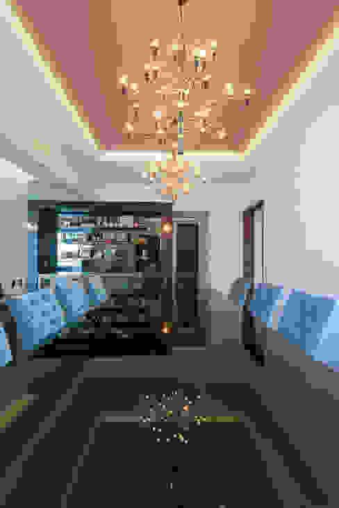 Departamento GC: Comedores de estilo  por kababie arquitectos, Ecléctico