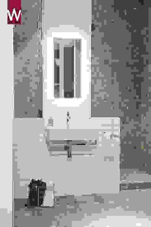 Projekty,  Łazienka zaprojektowane przez Van Wanrooij keuken, badkamer & tegel warenhuys