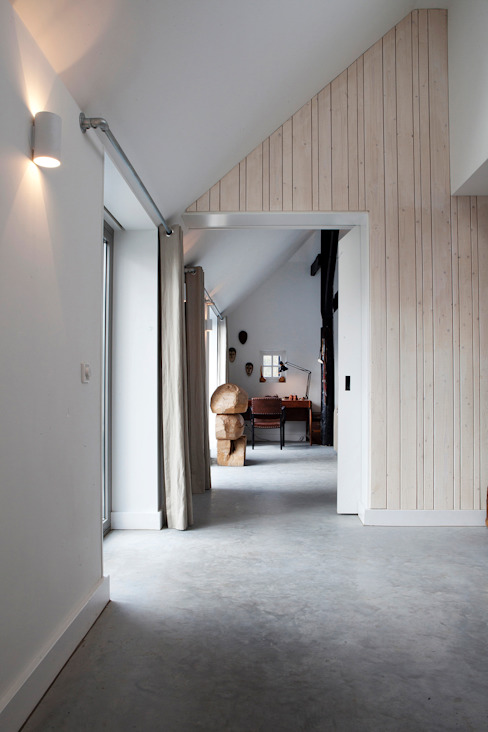 Vakantiehuis Schiermonnikoog Eclectische gangen, hallen & trappenhuizen van Binnenvorm Eclectisch
