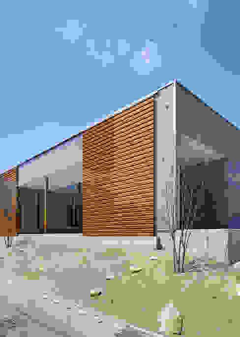 南側道路面 オリジナルな 家 の 有島忠男設計工房 オリジナル