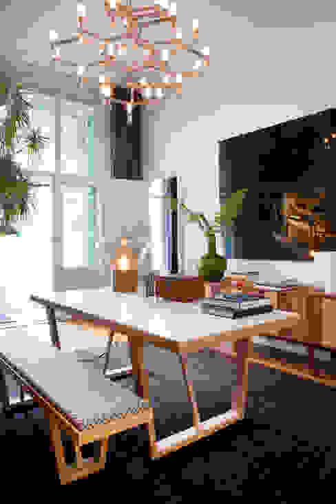 Familiehuis, Amsterdam Zuid Eclectische studeerkamer van Binnenvorm Eclectisch