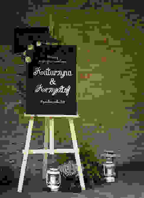 Dekoracja - Ślub 2 od Akuratnie